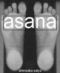 ahimsaka satya tadasana feet asana