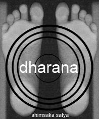 ahimsaka satya tadasana feet dharana