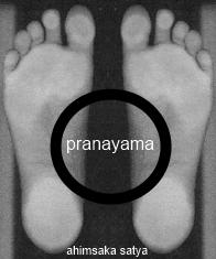 ahimsaka satya tadasana feet pranayama