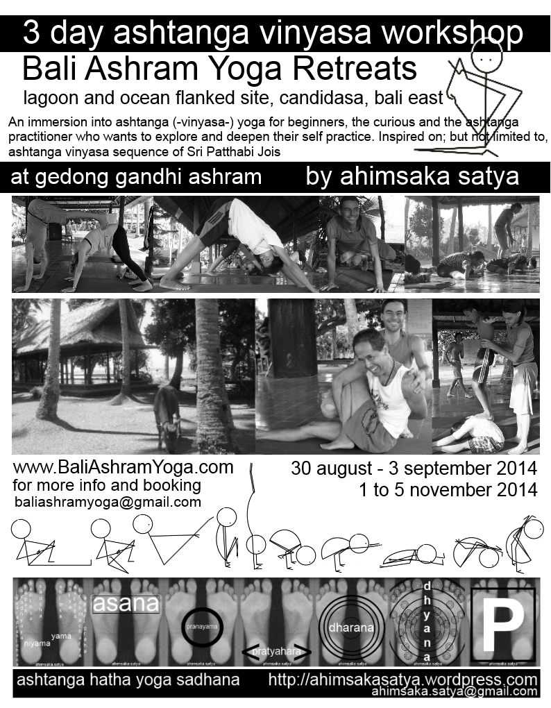 ahimsaka satya ashtanga vinyasa workshop flyer aug-2014