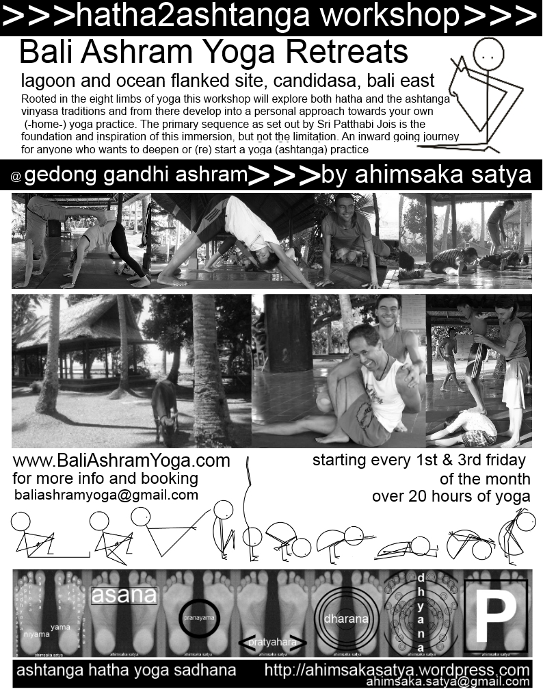 ahimsaka satya hatha 2 ashtanga vinyasa workshop flyer 4 2015